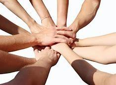 handen ineen in verbinding haptonomie