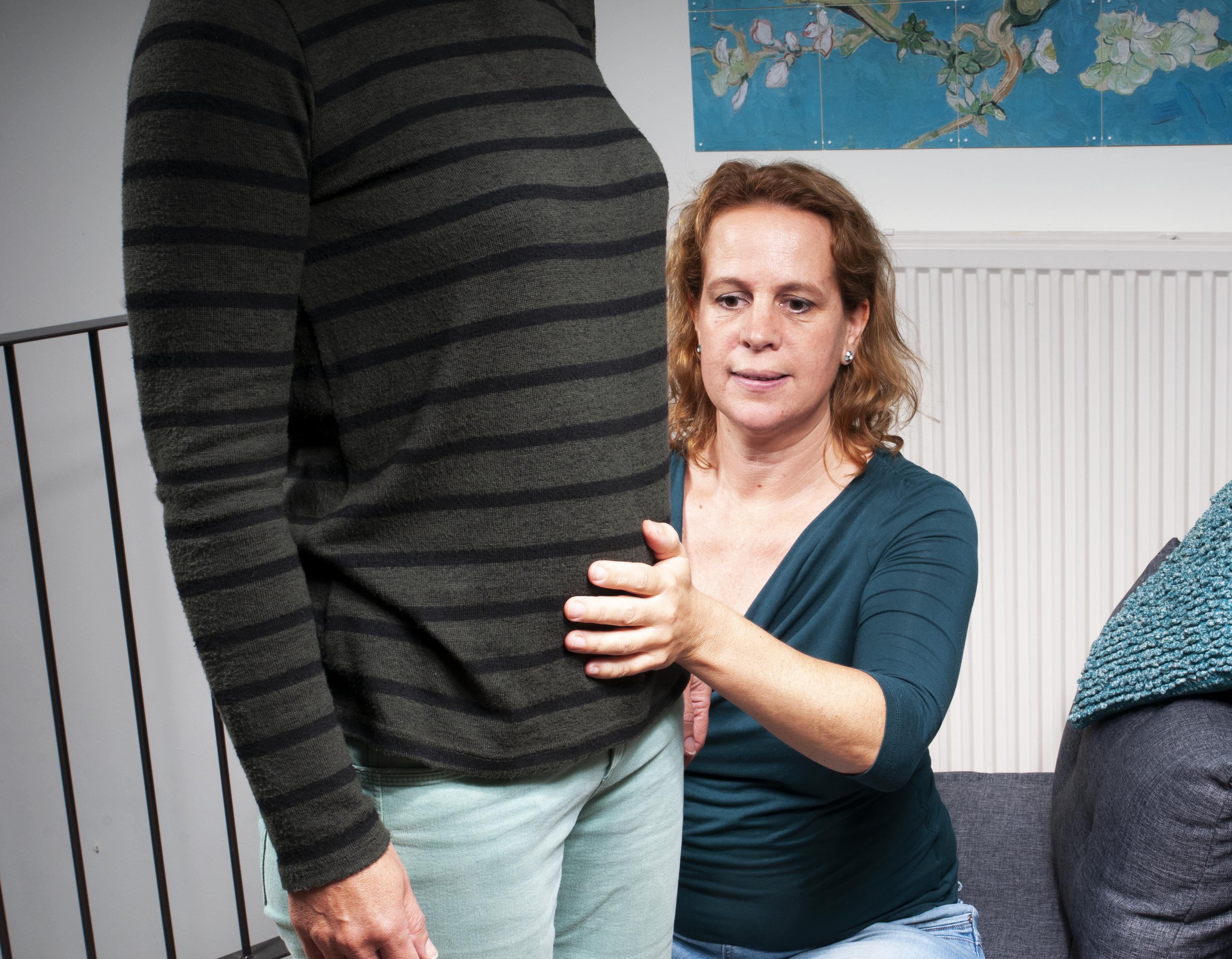 Haptotherapie - oefening met balans en houding